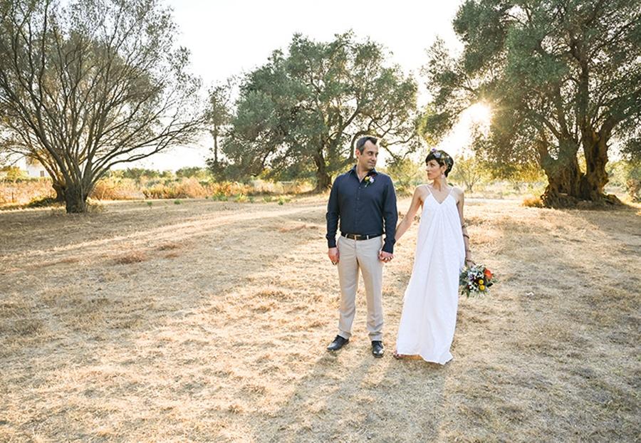 Καλοκαιρινός γάμος στη Κεφαλονιά με bohemian στυλ│ Carol & Άγγελος