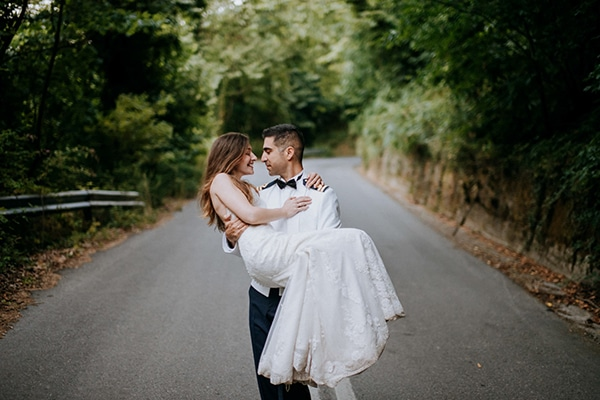 Στρατιωτικός γάμος στο Βόλο σε όμορφους παστέλ χρωματισμούς │Μαρίνα & Τάσος