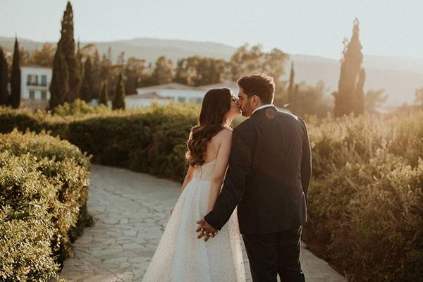 Elegant γάμος στο Anassa Hotel σε dusty blue και παστέλ χρωματισμούς │Μαρία & Μιχελής