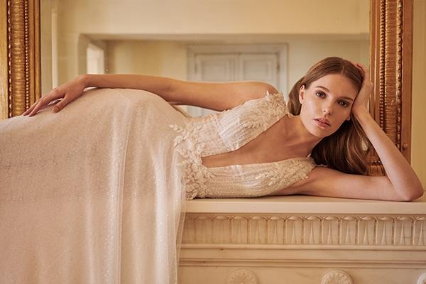 Aέρινα νυφικά Mairi Mparola για την πιο ρομαντική νυφική εμφάνιση │ Bridal Fall Collection 2021