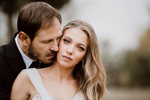 Όμορφος φθινοπωρινός γάμος στο κτήμα Έλενα με αστίλβη και τριαντάφυλλα │ Χαρά & Αστέριος