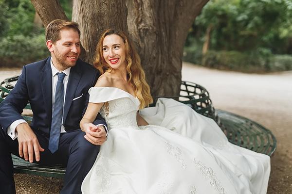 Πανέμορφη next day φωτογράφιση στον Εθνικό Κήπο│ Τζοάννα & Ανδρέας