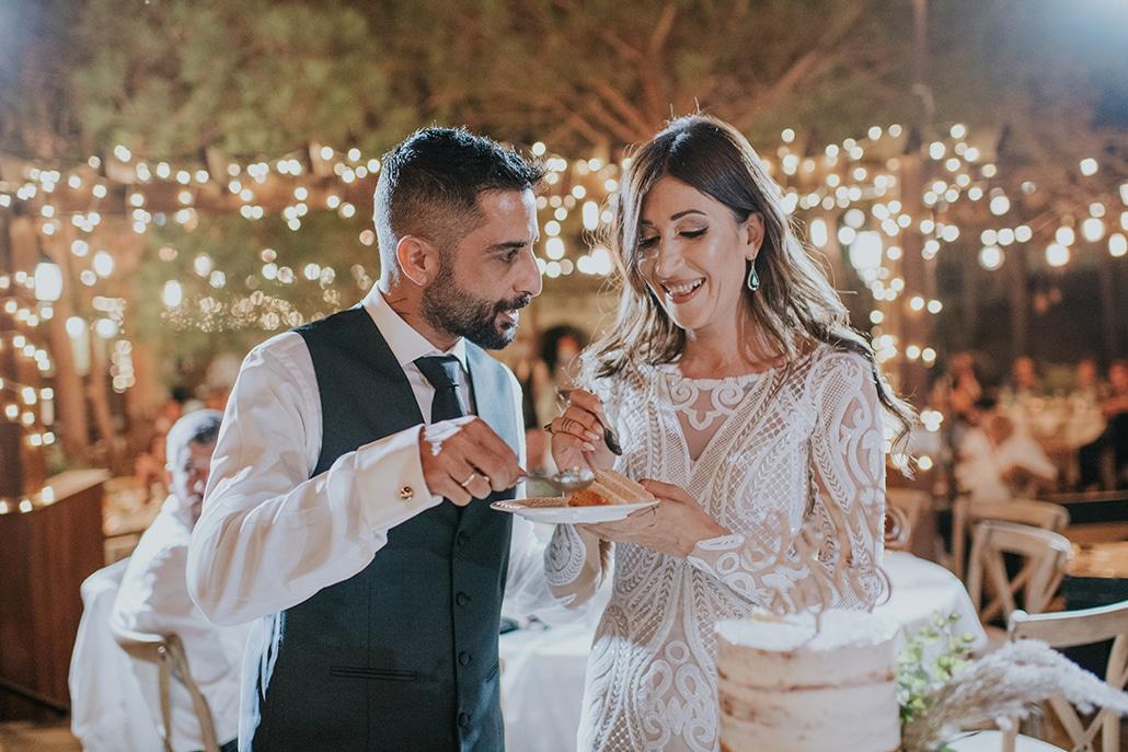 Bohemian φθινοπωρινός γάμος στη Λάρνακα με ευκάλυπτο σε ρομαντική διάθεση │Δέσπω & Χριστόφορος