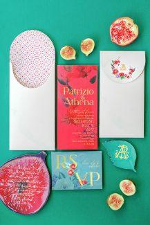 Μοναδικές προσκλήσεις με σχέδια από φρούτα και ομορφιές της φύσης