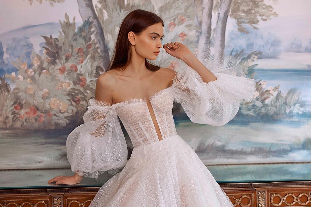 Εντυπωσιακά νυφικά φορέματα από Galia Lahav