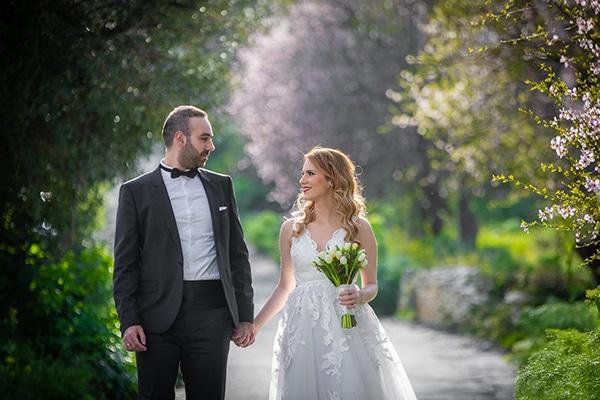 Ρομαντικός φθινοπωρινός γάμος στη Λευκωσία σε παστέλ αποχρώσεις │ Χριστιάνα & Νικόλας