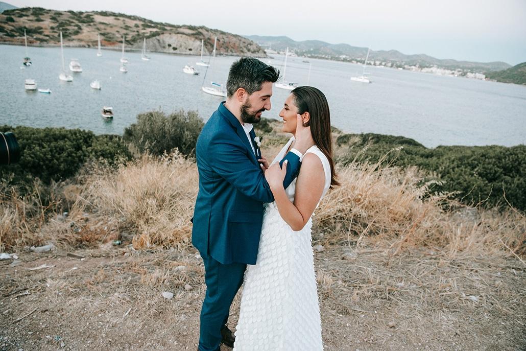 Ρομαντικός καλοκαιρινός γάμος στην Ανάβυσσο με θέα το γαλάζιο της θάλασσας │ Νατάσα & Βασίλης