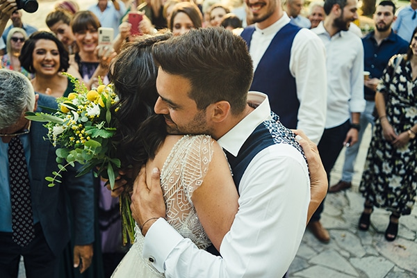 Vintage φθινοπωρινός γάμος στην Πάτρα σε ζωηρούς χρωματισμούς ǀ Σοφία & Βασίλης
