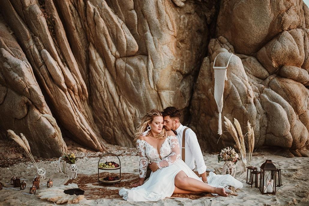 Yπέροχος φθινοπωρινός γάμος στην Θεσσαλονίκη με παστέλ αποχρώσεις και μποέμ στοιχεία │ Μάρθα & Χρήστος