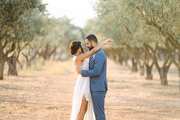 Πολιτικός γάμος σε ρουστίκ στυλ και μεσογειακό άρωμα │ Reine & Ziad
