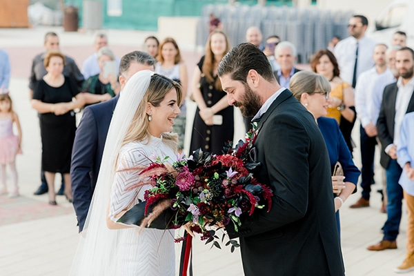 Elegant φθινοπωρινός γάμος στη Λευκωσία με μοντέρνα στοιχεία │ Χριστίνα & Δημήτρης
