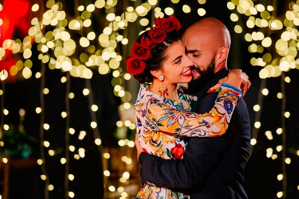 Ένας μοντέρνος elegant γάμος στη Σαντορίνη με τις πιο inspiring ιδέες διακόσμησης │ Rosalia & Riccardo