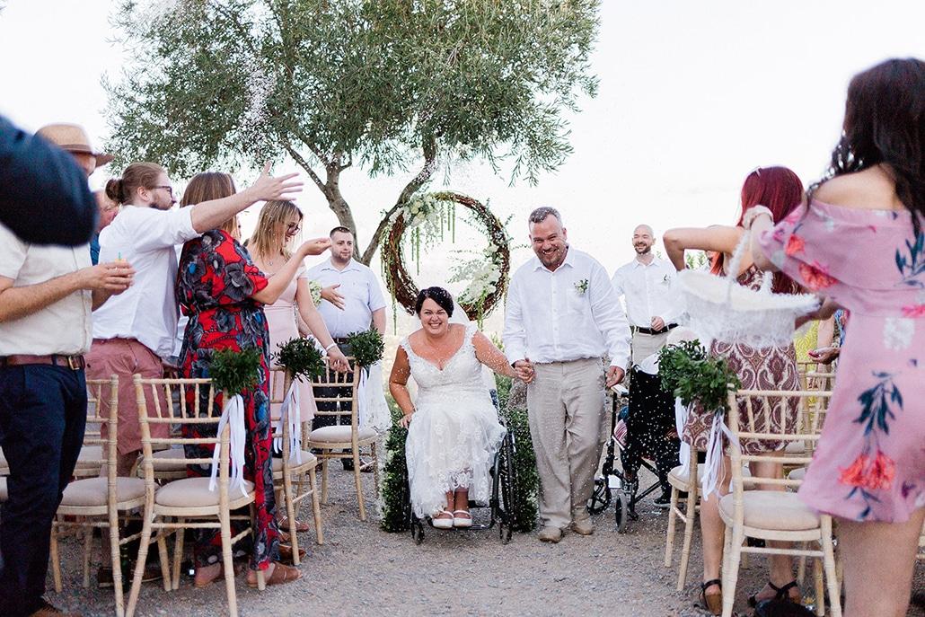 Ρομαντικός καλοκαιρινός γάμος στην Κέρκυρα με τα πιο συγκινητικά στιγμιότυπα │ Aimee & Stuart
