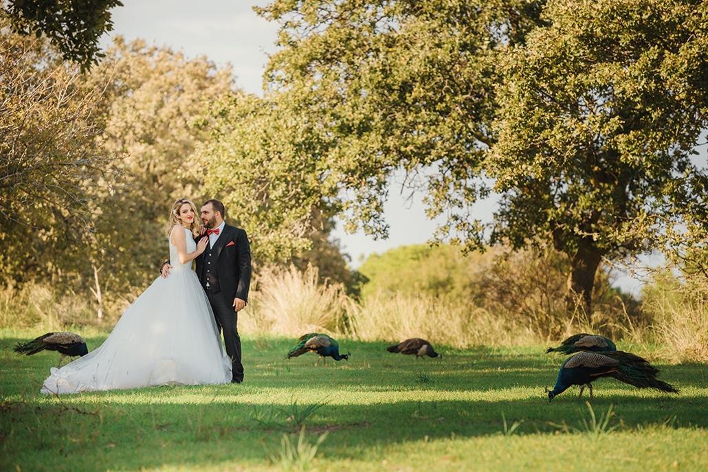 Ρομαντικός φθινοπωρινός γάμος στην Ρόδο με λευκές αποχρώσεις και elegant χρυσές λεπτομέρειες│ Μαρία & Νίκος