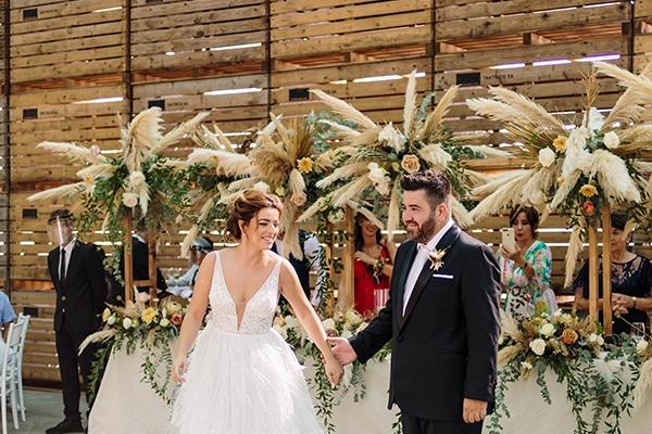 Rustic φθινοπωρινός γάμος γεμάτος χρώματα και stylish στοιχεία │ Αναστασία & Δημήτρης