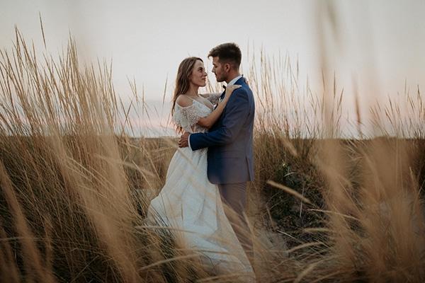 Ρουστίκ φθινοπωρινός γάμος στη Θεσσαλονίκη με πινελιές του peach │ Χρήστα & Θοδωρής