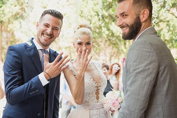 Ανοιξιάτικος γάμος στη Θεσσαλονίκη με floral διακόσμηση και πλούσια πρασινάδα │ Αγγελική & Σωτήρης