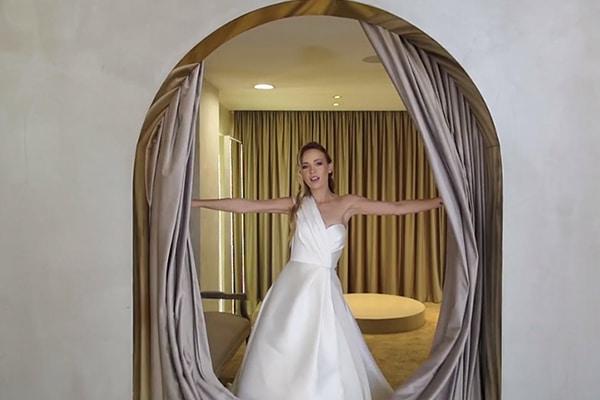 Υπέροχο βίντεο με νυφικά φορέματα που θα λατρέψετε από τον οίκο νυφικών Gala Montenapoleone