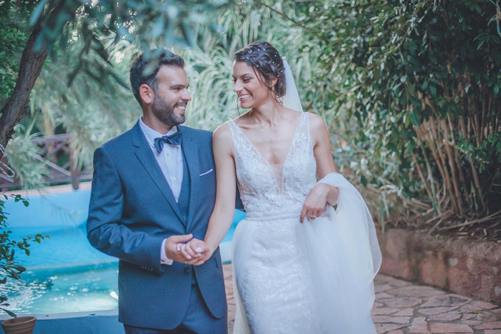 Καλοκαιρινός γάμος στην Αθήνα με ρομαντικές πινελιές│ Τζίνα & Κώστας