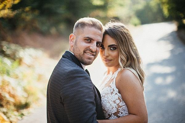 Καλοκαιρινός γάμος στη Λάρισα με σομόν πινελιές και γυψοφίλη │ Τζωρτζίνα & Θάνος