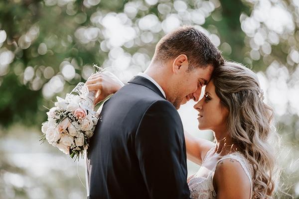 Vintage γάμος στην Ορεστιάδα με τριαντάφυλλα σε παστελ χρώματα │ Κωνσταντίνα & Βασίλης