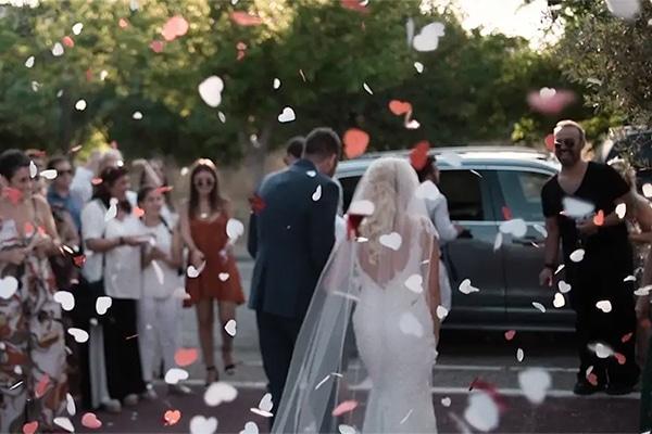 Υπέροχο βίντεο καλοκαιρινού γάμου στην Αθήνα στον Πύργο Πετρέζα │ Γιούλη & Γιώργος