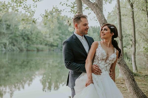 Υπέροχος καλοκαιρινός γάμος στη Θεσσαλονίκη με κάλλες και ρουστικ στοιχεία │Μαρία Ντιάνα & Πέτρος