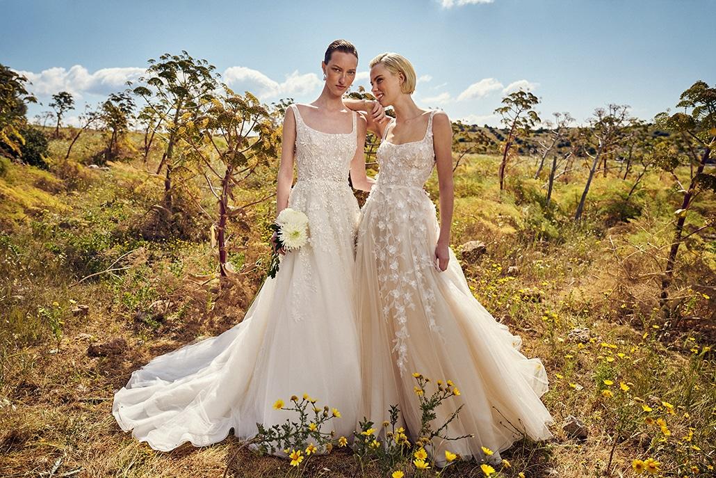 Εντυπωσιακά νυφικά φορέματα Costarellos για μια ξεχωριστή νυφική εμφάνιση│Bridal Spring Collection 2022