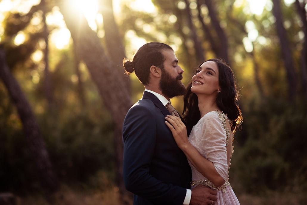 Ρομαντικός καλοκαιρινός γάμος στην Αθήνα με τριαντάφυλλα σε κόκκινες – λευκές αποχρώσεις │ Ειρήνη & Σπύρος