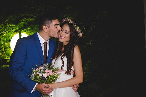 Ένας καλοκαιρινός γάμος στην Αθήνα με πινελιές του ροζ και ρομαντικές λεπτομέρειες │ Γεωργία & Γιάννης