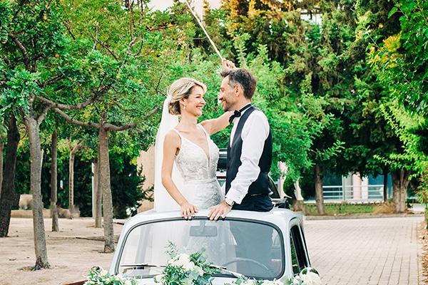 Ένας καλοκαιρινός γάμος στην Αθήνα με διάχυτο ρομαντισμό στην ατμόσφαιρα │ Χαρά & Άρης