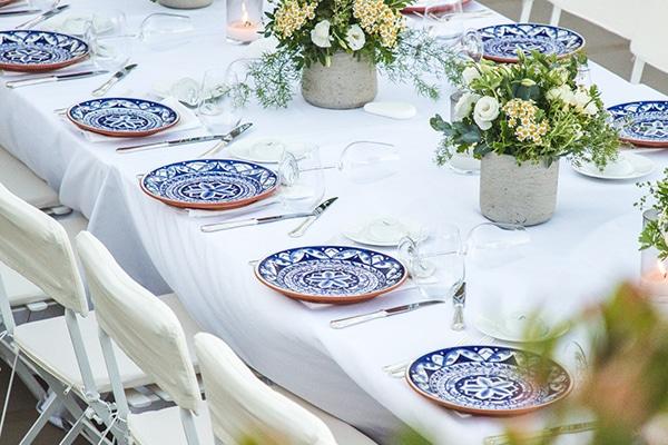 Υπέροχες καλοκαιρινές ιδέες διακόσμησης γάμου με μεσογειακά και ρομαντικά στοιχεία