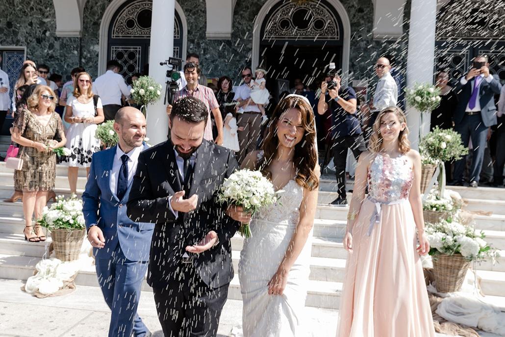 Φθινοπωρινός γάμος στη Λάρισα με γυψοφίλη και λυσίανθο │ Κασσιανή & Λευτέρης
