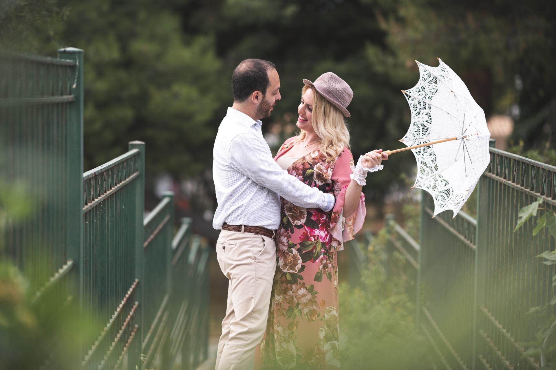 Ρομαντική prewedding φωτογράφιση με την πιο χαρούμενη διάθεση│Ιωάννα & Κώστας