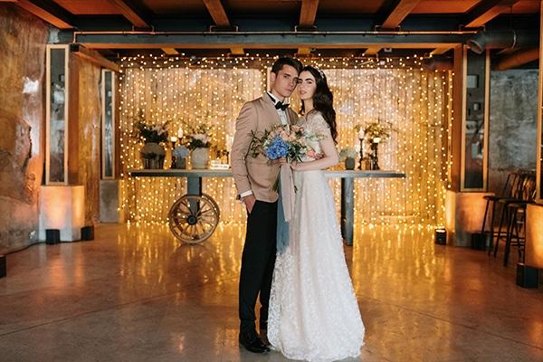 Εντυπωσιακή φωτογράφιση με ρομαντικά και ρουστίκ στοιχεία στο Falirikon Art & Events