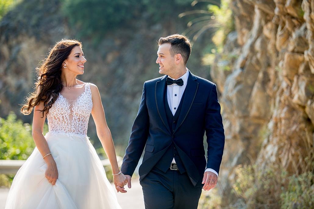 Υπέροχος καλοκαιρινός γάμος στη Θεσσαλονίκη με πανέμορφο ανθοστολισμό από παιώνιες │ Ζωή & Συμεών