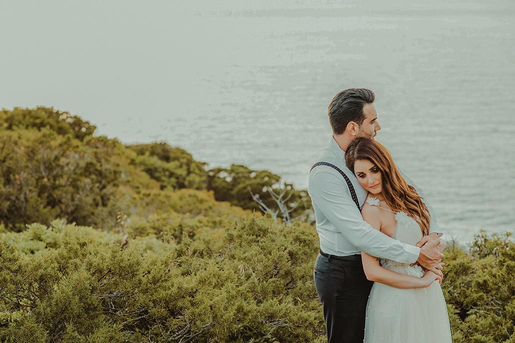 Ρομαντικός καλοκαιρινός γάμος στην Λίμνη Ηραίου με λυσίανθο και γιψοφίλη │Βούλα & Πάνος
