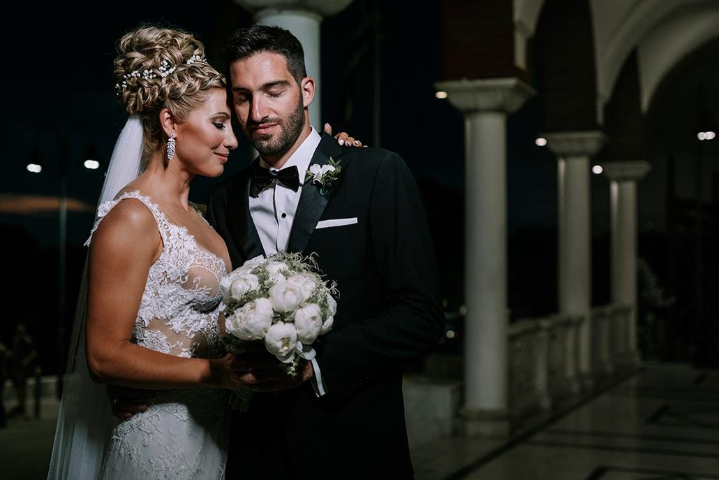 Ρομαντικός καλοκαιρινός γάμος με παιώνιες και γυψοφίλη σε λευκούς χρωματισμούς │ Ελεάνα & Κώστας
