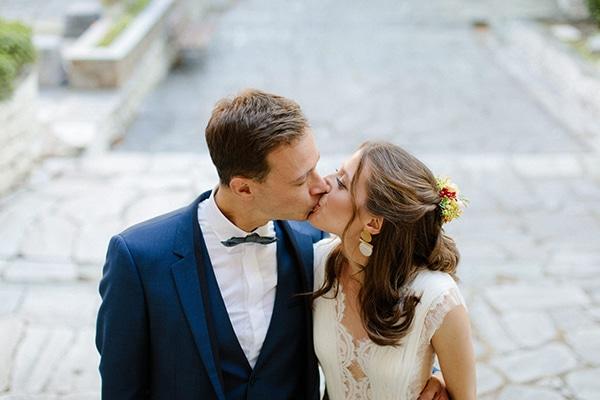 Rustic φθινοπωρινός γάμος στο Πήλιο με bohemian διάθεση και φανταχτερά χρώματα │ Αποστολία & Αντώνης