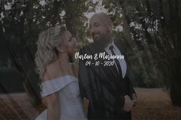 Εντυπωσιακό βίντεο elegant Φθινοπωρινού γάμου στη Λάρνακα │ Μαριάννα και Βαρτάν