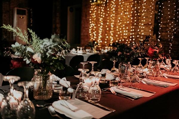 Ιδέες για ρομαντική διακόσμηση και υπέροχο γαμήλιο μενού από Bouchée Catering