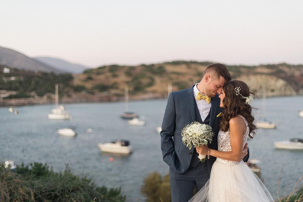 Καλοκαιρινός γάμος στην Αθήνα με λευκά τριαντάφυλλα και γυψοφίλη  │ Αναστασία & Michael