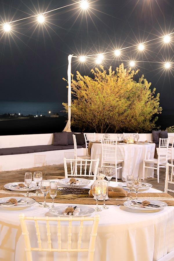 Γαμήλια δεξίωση στην Πάρο σε ένα υπέροχο καλοκαιρινό venue │ Fladakia Estate