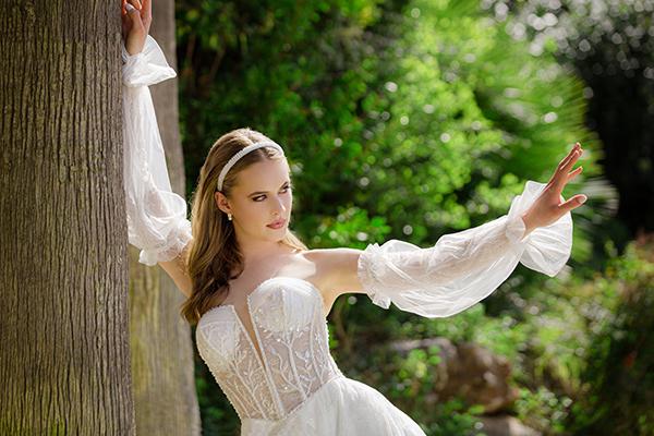Υπέροχα νυφικά φορέματα για μια εμφάνιση που θα εντυπωσιάσει