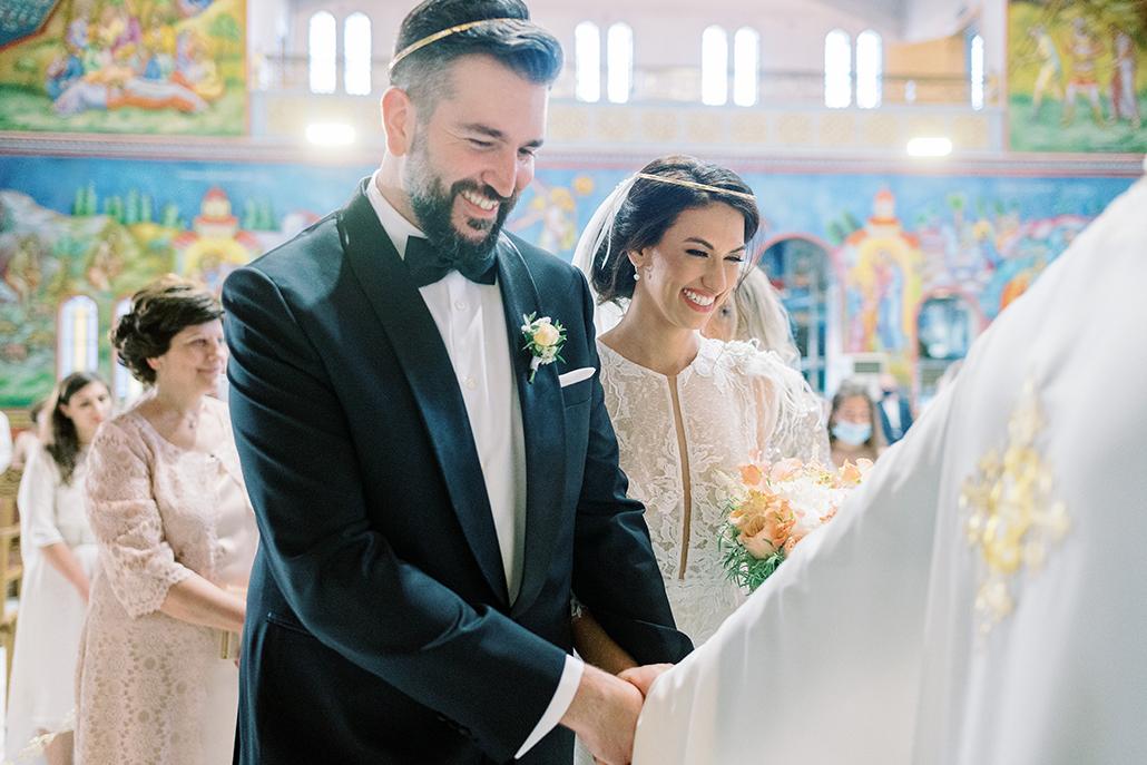 Glamorous – μποέμ γάμος στη Λίμνη Βουλιαγμένης με ρομαντικές λεπτομέρειες │Εβελίνα & Γιώργος