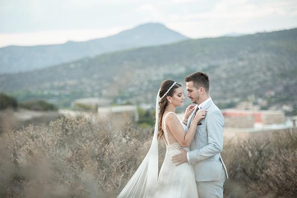 Πανέμορφος ρομαντικός γάμος στους Αμπελώνες Μάρκου │ Βίκη & Κώστας