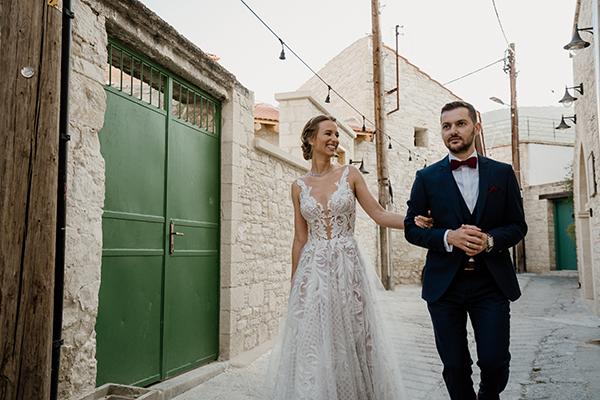 Πανέμορφος καλοκαιρινός γάμος στην ορεινή Κύπρο με τριαντάφυλλα και λυσίανθο │ Παυλίνα & Παναγιώτης