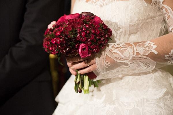 Chic ανθοδέσμες γαμου με νερανγκούλες