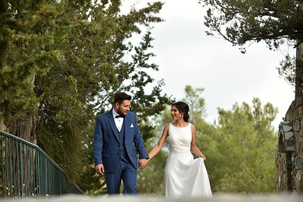 Elegant καλοκαιρινός γάμος στη Λευκωσία με πλούσιες ανθοσυνθέσεις │ Δήμητρα & Παναγιώτης