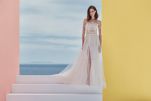 Αιθέρια νυφικά φορέματα από Vasia Tzotzopoulou για μια ultra romantic νυφική εμφάνιση